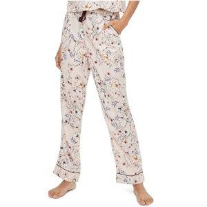 Topshop || Floral Drawstring Pajama Pants